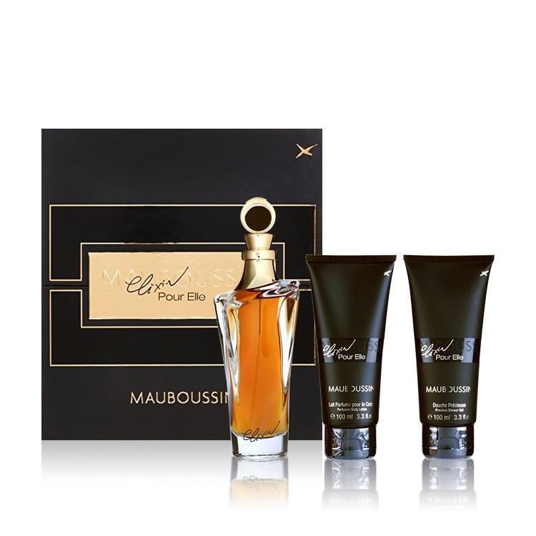 Buy Mauboussin Elixir Pour Elle Gift Set Golden Scent Golden Scent