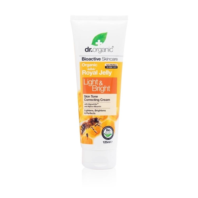 dr organic skin tone correcting cream