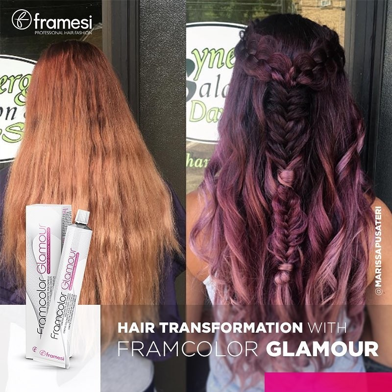 Buy Framesi Framcolor Glamour Hair Coloring Cream - 4 Medium ...