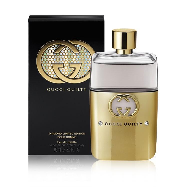 Buy Gucci Guilty Pour Homme Diamond Edition Perfume For Men Golden