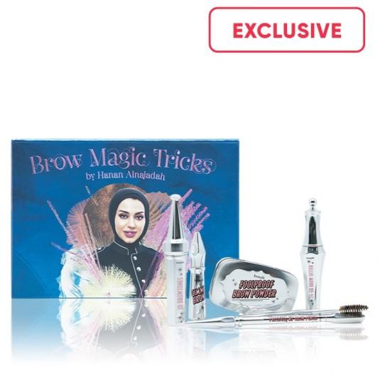 Benefit Cosmetics Brow Magic Tricks by Hanan Alnajadah