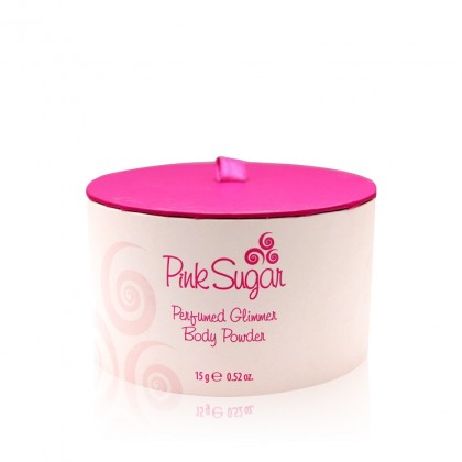 Pink Sugar Perfumed Gilmmer Body Powder