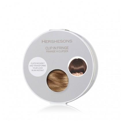 Hershesons Clip In Fringe - Caramel Blonde SE