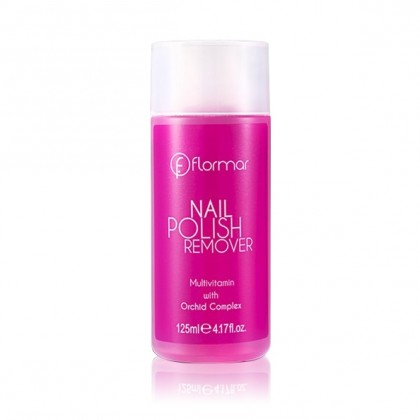 Flormar Nail Polish Remover - 03 Orchid Complex