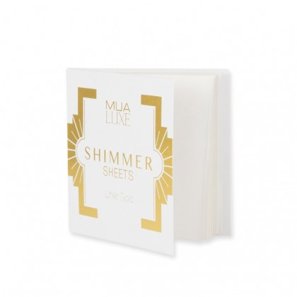 Makeup Academy Luxe Shimmer Sheets