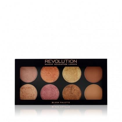 Makeup Revolution Ultra Golden Sugar Blush, Bronze & Highlight Palette - 2 Rose Gold