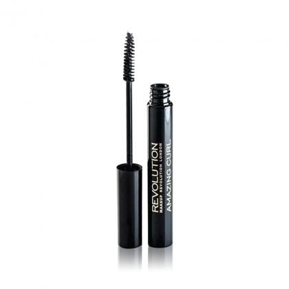 Makeup Revolution Amazing Curl Mascara - Black