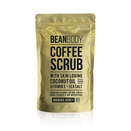 Bean Body Coffee Scrub - Manuka Honey