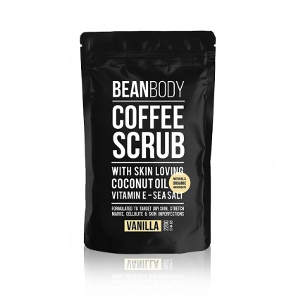 Bean Body Coffee Scrub- Vanilla