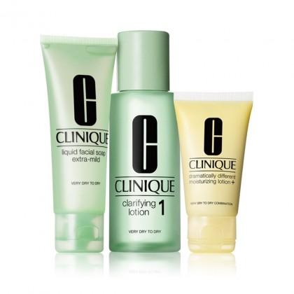 Clinique 3-Step Creates Great Skin