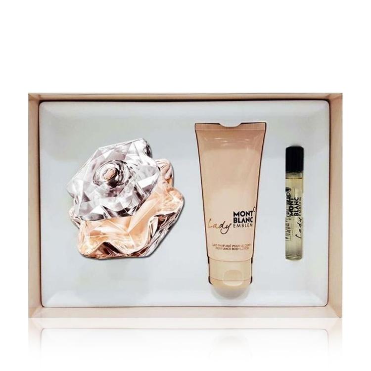 39c0e1059 Buy Mont Blanc Lady Emblem Gift Set - Golden Scent - Golden Scent