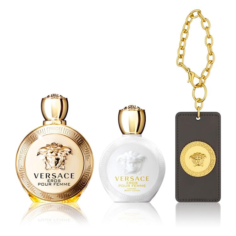 1d48a189e Buy Versace Eros Pour Femme Gift Set - Golden Scent - Golden Scent