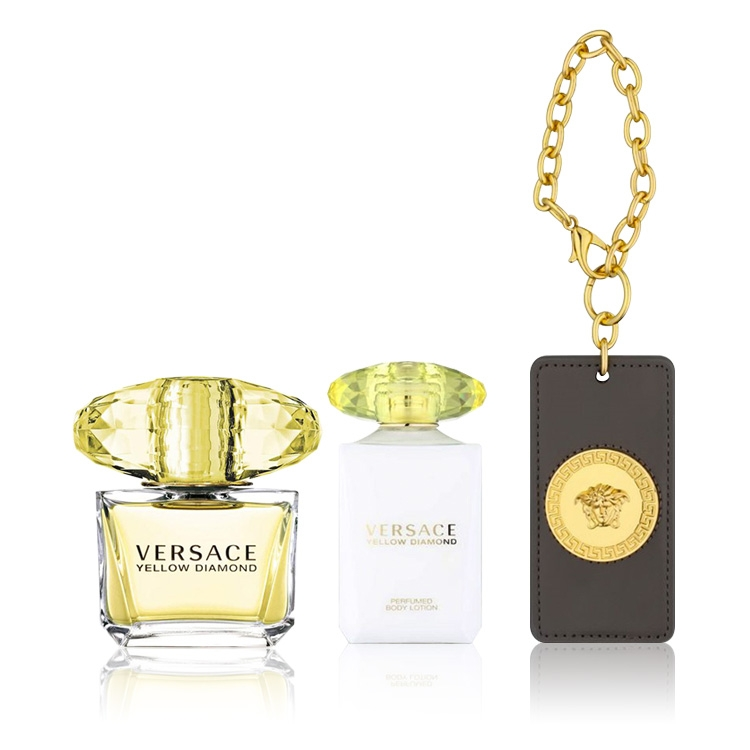 06458135f Buy Versace Yellow Diamond Gift Set - Golden Scent - Golden Scent